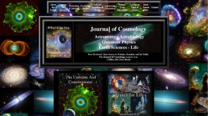 Journal of Cosmology - homepage