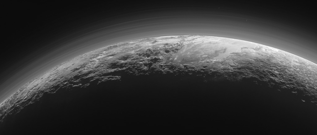 Pluto-horizon door New Horizons