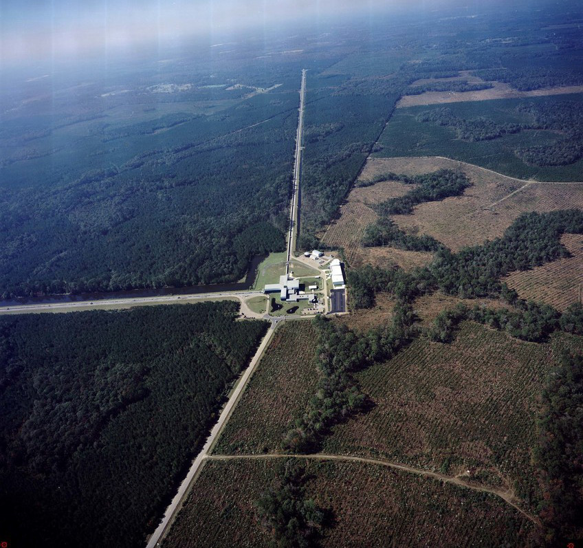 LIGO Livingston - luchtfoto