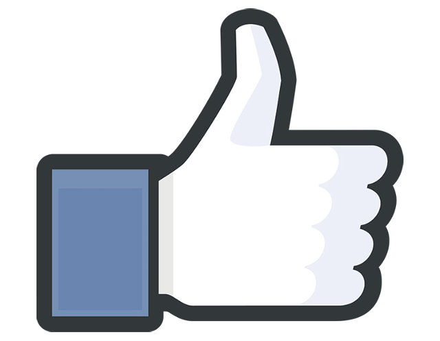 Like-button Facebook